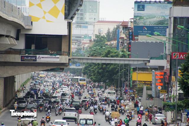 Hình ảnh dự án đường sắt Cát Linh - Hà Đông trước ngày chạy thử - Ảnh 8.