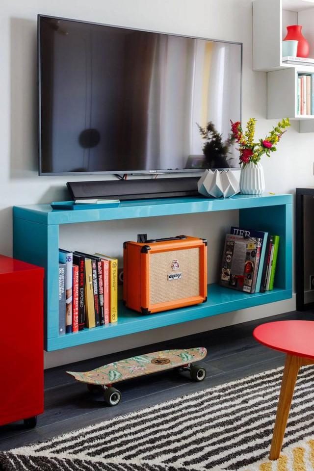 Căn hộ 35m2 đẹp mãn nhãn với nội thất nhiều màu sắc - Ảnh 8.
