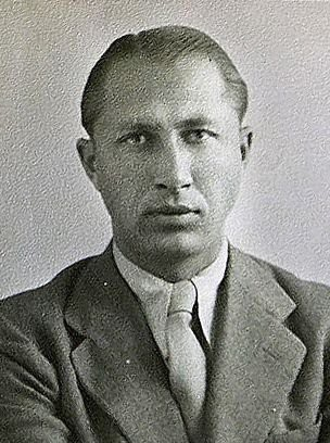Ảnh hộ chiếu của Duško Popov.