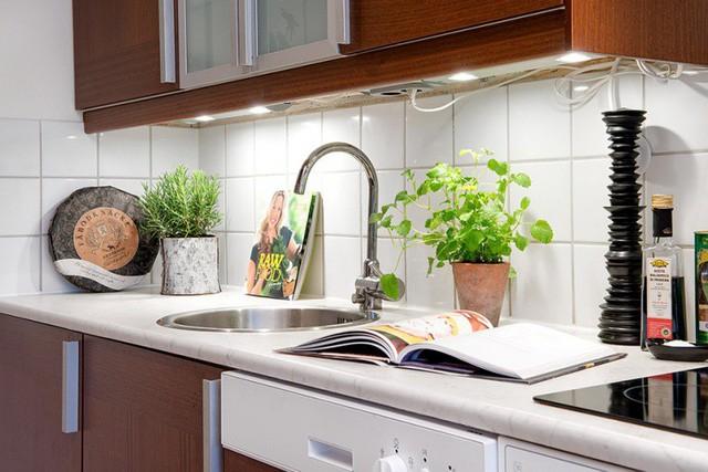 Phong cách thiết kế nội thất Bắc Âu (Scandinavia) ấn tượng trong căn hộ hơn 40m2  - Ảnh 8.