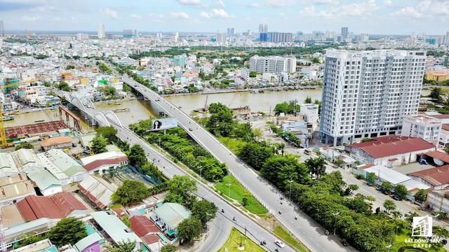 Cận cảnh tiến độ loạt dự án có sức hút lớn dọc kênh rạch Sài Gòn - Ảnh 8.