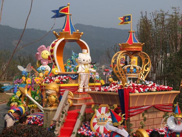 Ngoài Hello Kitty, các nhân vật hoạt hình nổi tiếng châu Á khác cũng sẽ được trưng bày.