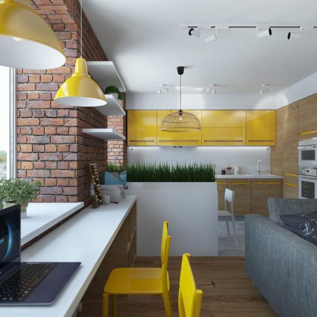 Thiết kế nội thất chất lừ của ngôi nhà ống 65m2 cho các gia đình trẻ - Ảnh 9.