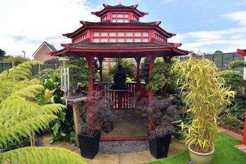 Mê mẩn khu vườn Á Đông như thiên đường của ông lão 80 tuổi - Ảnh 9.