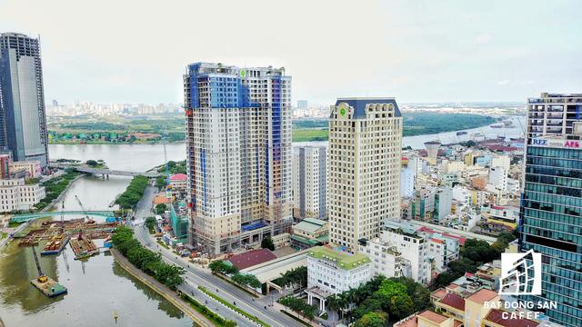 Bến Vân Đồn nhìn từ trên cao, hàng loạt chung cư cao cấp làm thay đổi diện mạo cung đường đắt giá bậc nhất Sài Gòn - Ảnh 9.