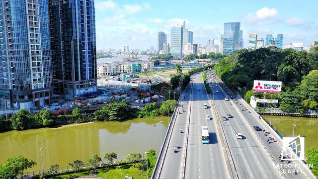 Dự án bất động sản cao cấp lớn thứ 2 của Vingroup tại Sài Gòn đang xây đến đâu? - Ảnh 9.