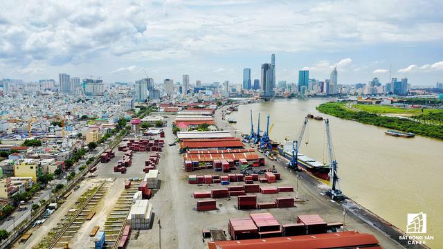 Cận cảnh nhiều khu cảng lớn tại Sài Gòn được di dời nhường đất phát triển đô thị - Ảnh 9.