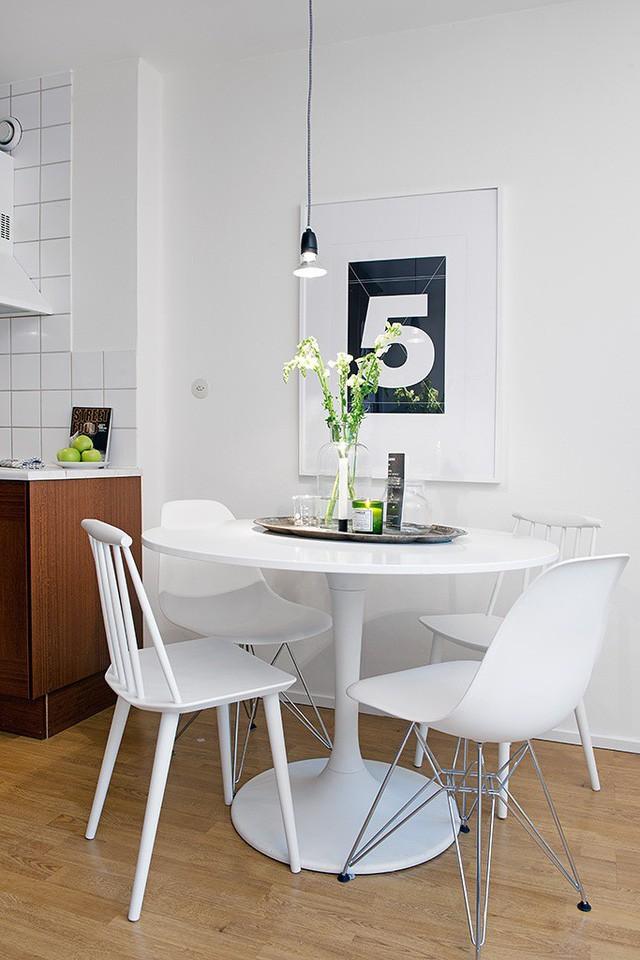 Phong cách thiết kế nội thất Bắc Âu (Scandinavia) ấn tượng trong căn hộ hơn 40m2  - Ảnh 9.