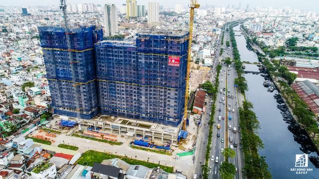 Cận cảnh tiến độ loạt dự án có sức hút lớn dọc kênh rạch Sài Gòn - Ảnh 9.