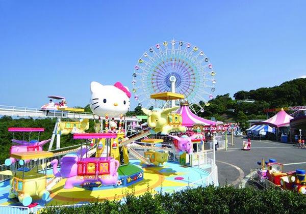 Dự kiến, công viên Hello Kitty sẽ được ra mắt trong quý IV/2018.