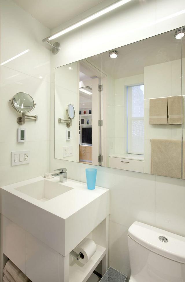 Thiết kế nội thất căn hộ 32m2 chất lừ cho gia đình trẻ - Ảnh 10.