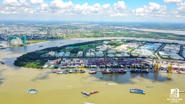 Cận cảnh nhiều khu cảng lớn tại Sài Gòn được di dời nhường đất phát triển đô thị - Ảnh 10.
