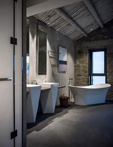 Phòng tắm sang trọng. Thiết kế này cho thấy sự mới mẻ, tinh tế trong thiết kế nội thất.