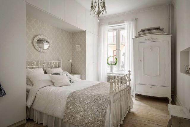 Căn hộ chỉ 50m2 được thiết kế tông màu trắng, đem lại không gian sống rộng rãi và sang trọng - Ảnh 10.