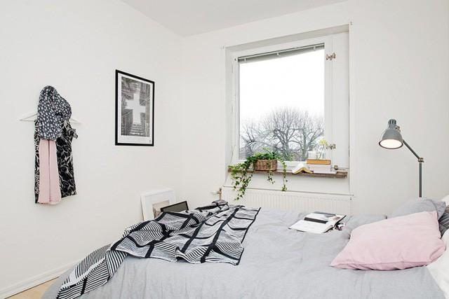 Phong cách thiết kế nội thất Bắc Âu (Scandinavia) ấn tượng trong căn hộ hơn 40m2  - Ảnh 10.