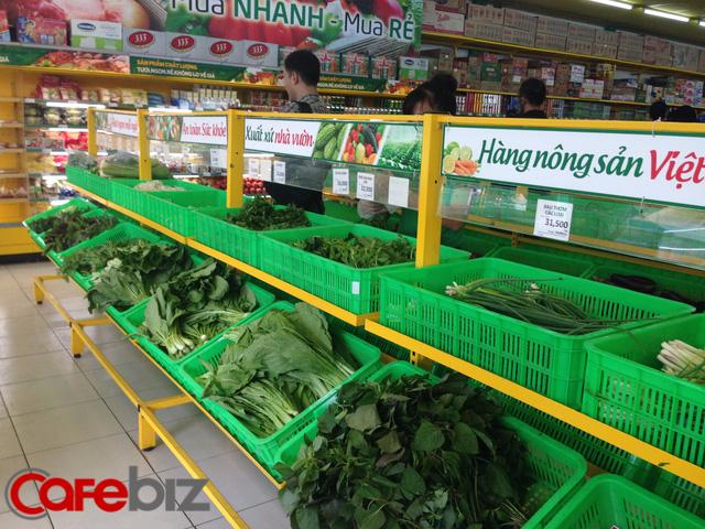 Bên trong Bách hóa xanh ở quận Bình Tân.