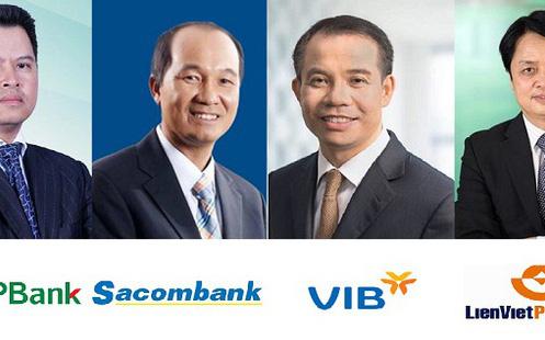 """Những doanh nhân """"nổi như cồn"""" trong lĩnh vực ngân hàng năm 2017"""
