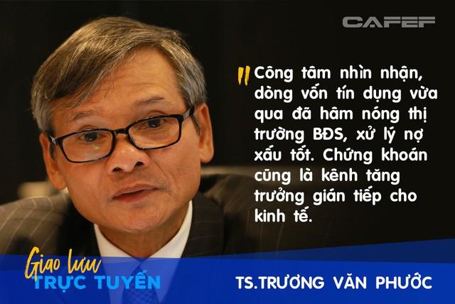 Ông Trương Văn Phước: Tôi có sự so sánh ẩn dụ về tăng trưởng của GDP với điểm số của một cậu học trò nghèo - Ảnh 5.