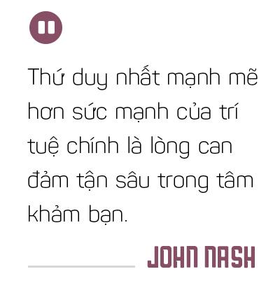 John Nash: Những điểm cân bằng của một tâm hồn đẹp - Ảnh 3.