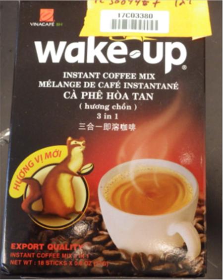 Mỹ thu hồi khẩn cấp cà phê hòa tan Wake-up của Vinacafé vì chứa chất gây dị ứng từ sữa, có khả năng đe dọa đến tính mạng - Ảnh 1.
