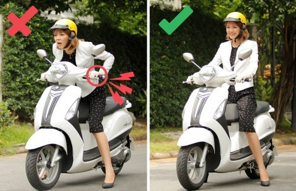 6 sai lầm tai hại khi đi xe máy mà người Việt rất hay mắc phải - Ảnh 1.