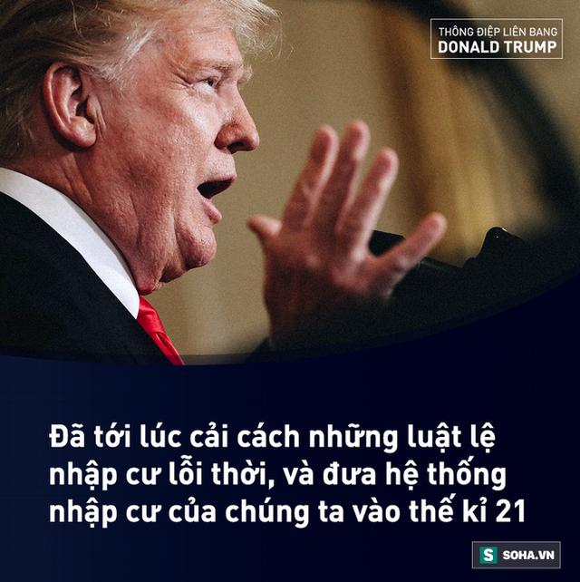 TĐLB của ông Trump: Sẽ chấm dứt Xổ số visa, chỉ cho bảo lãnh vợ/chồng/trẻ em nhập cư - Ảnh 10.