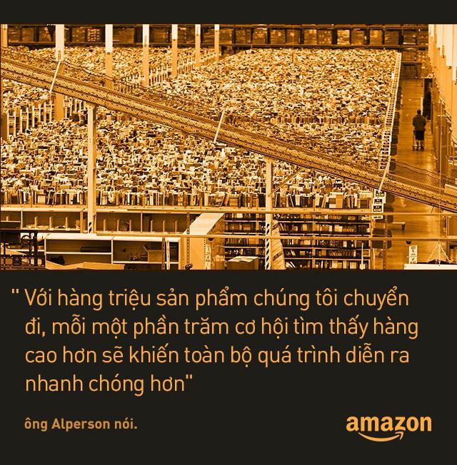 Kho hàng Amazon: tiện đâu vứt đấy, không cần sắp xếp theo thứ tự nhưng lại hiệu quả nhất địa cầu là sao? - Ảnh 4.
