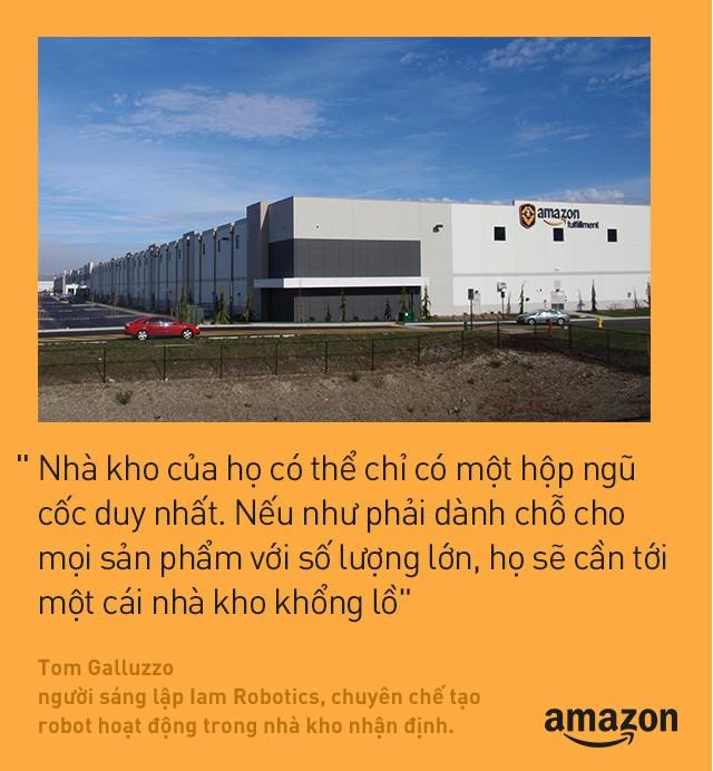 Kho hàng Amazon: tiện đâu vứt đấy, không cần sắp xếp theo thứ tự nhưng lại hiệu quả nhất địa cầu là sao? - Ảnh 5.