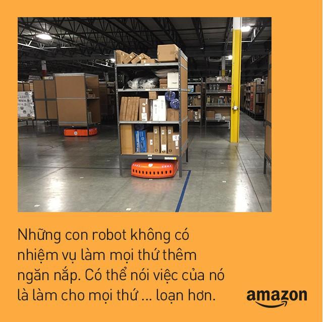 Kho hàng Amazon: tiện đâu vứt đấy, không cần sắp xếp theo thứ tự nhưng lại hiệu quả nhất địa cầu là sao? - Ảnh 7.