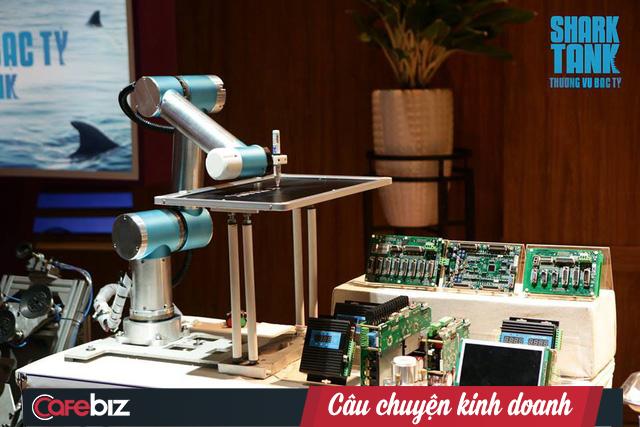 """Shark Phú đầu tư nửa triệu USD vào startup robot tự động hóa dù cho rằng sản phẩm chỉ """"thỏa mãn đam mê chứ không bán được cho các công ty lớn"""" - Ảnh 1."""