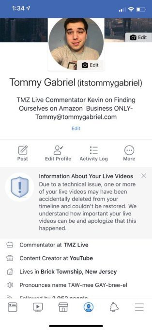 Bê bối nối tiếp bê bối: Facebook lại phải xin lỗi người dùng - Ảnh 1.