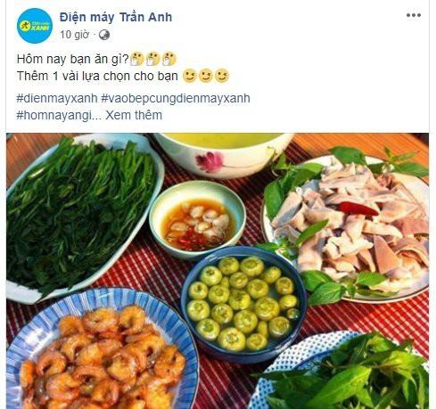 Sau thâu tóm, Thế Giới Di Động đổi fanpage Trần Anh thành nơi chia sẻ bí kíp, nấu ăn - Ảnh 1.