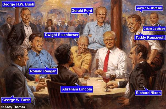 Người Mỹ thích thú chia sẻ chi tiết bất thường trong video phỏng vấn TT Mỹ Donald Trump - Ảnh 1.