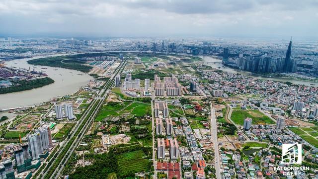 Toàn cảnh khu đất vàng Thủ Thiêm, dự kiến xây quảng trường hơn 2.000 tỷ mang tên Chủ tịch Hồ Chí Minh - Ảnh 1.