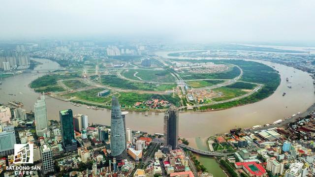 Toàn cảnh khu đất vàng Thủ Thiêm, dự kiến xây quảng trường hơn 2.000 tỷ mang tên Chủ tịch Hồ Chí Minh - Ảnh 2.