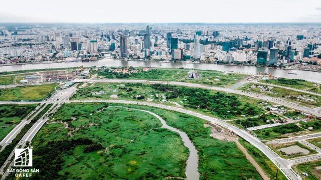 Toàn cảnh khu đất vàng Thủ Thiêm, dự kiến xây quảng trường hơn 2.000 tỷ mang tên Chủ tịch Hồ Chí Minh - Ảnh 8.