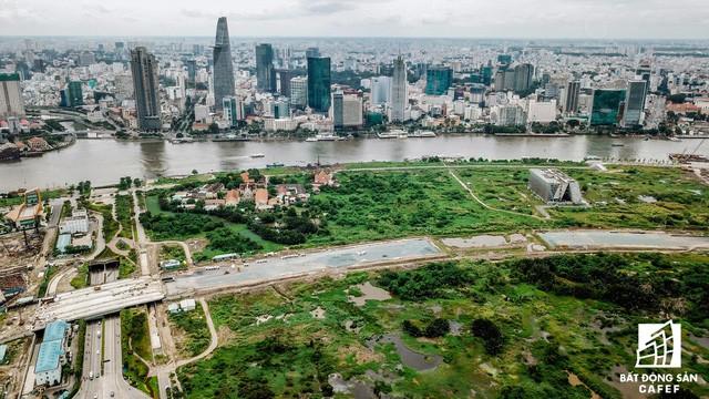 Toàn cảnh khu đất vàng Thủ Thiêm, dự kiến xây quảng trường hơn 2.000 tỷ mang tên Chủ tịch Hồ Chí Minh - Ảnh 9.