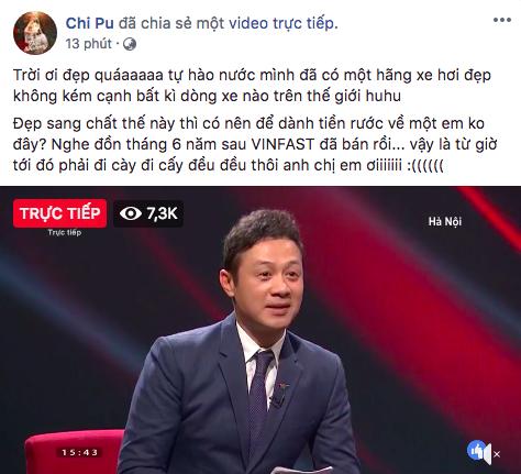 Soobin Hoàng Sơn, Chi Pu và loạt sao Việt đồng loạt chia sẻ tường thuật sự kiện ra mắt xe VinFast tại Paris Motor Show - Ảnh 2.