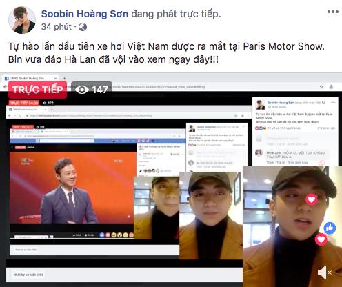 Soobin Hoàng Sơn, Chi Pu và loạt sao Việt đồng loạt chia sẻ tường thuật sự kiện ra mắt xe VinFast tại Paris Motor Show - Ảnh 6.