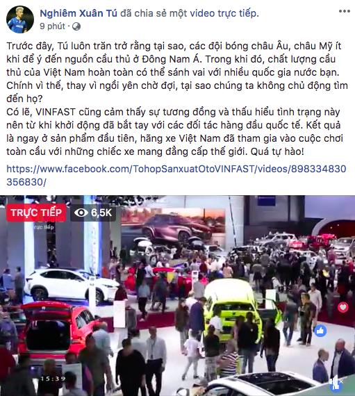 Soobin Hoàng Sơn, Chi Pu và loạt sao Việt đồng loạt chia sẻ tường thuật sự kiện ra mắt xe VinFast tại Paris Motor Show - Ảnh 8.