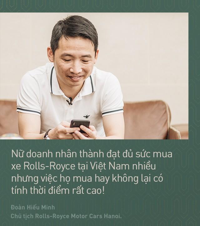 Chủ tịch Đoàn Hiếu Minh: Không có phụ nữ, chúng tôi không bán được xe Rolls-Royce tại Việt Nam - Ảnh 6.