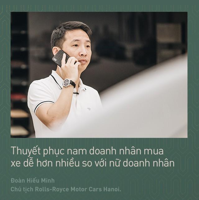 Chủ tịch Đoàn Hiếu Minh: Không có phụ nữ, chúng tôi không bán được xe Rolls-Royce tại Việt Nam - Ảnh 8.