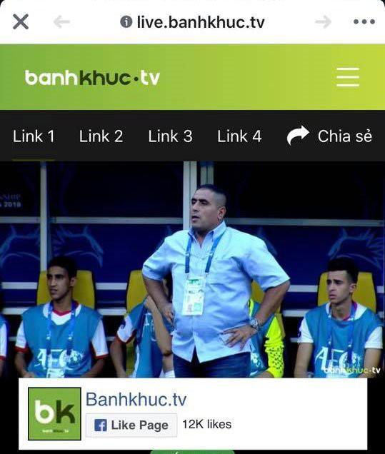 bánh khúc tv vi phạm bản quyền - photo 1 1540123203383697893810 - Bánh khúc TV vi phạm bản quyền trận đấu U19 Việt Nam và U19 Jordan
