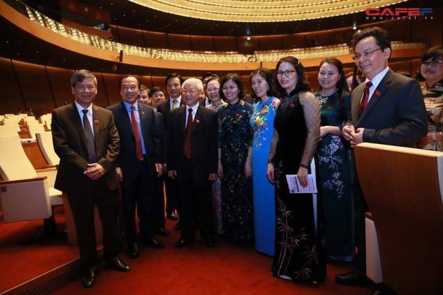Những hình ảnh ấn tượng phiên khai mạc kỳ họp thứ 6 Quốc hội khoá XIV  - Ảnh 9.
