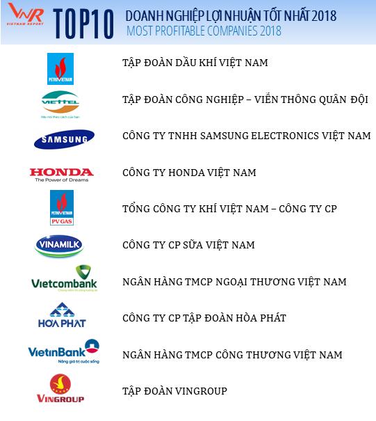 Top 10 doanh nghiệp tư nhân lãi nhất Việt Nam: Vinamilk đứng đầu, VinGroup vượt Thaco về vị trí thứ 3 - Ảnh 2.