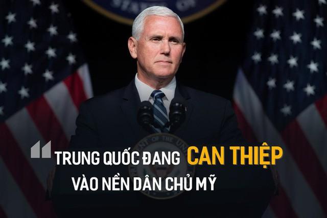 Ông Mike Pence tung bằng chứng TQ can thiệp bầu cử: Bắc Kinh muốn thay thế Tổng thống Mỹ  - Ảnh 1.