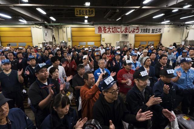 Kỷ nguyên mới cho chợ cá lâu đời nhất Nhật Bản, nơi xử lý 1.600 tấn hải sản mỗi ngày - Ảnh 3.
