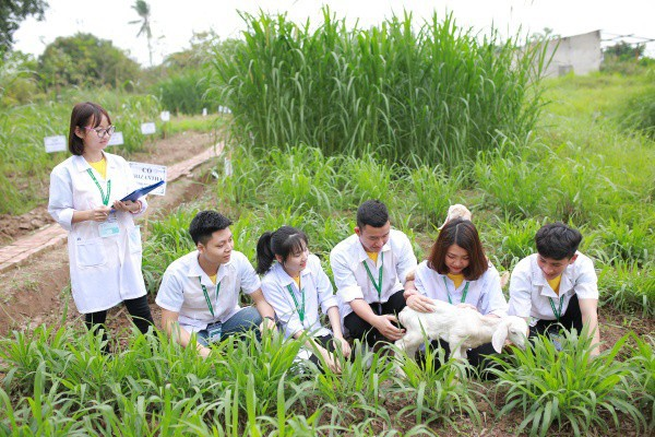 Ngay tại Hà Nội có một ngôi trường rộng gần 200ha, cây cối, hoa trái phủ xanh khắp nơi như rừng nhiệt đới - Ảnh 12.