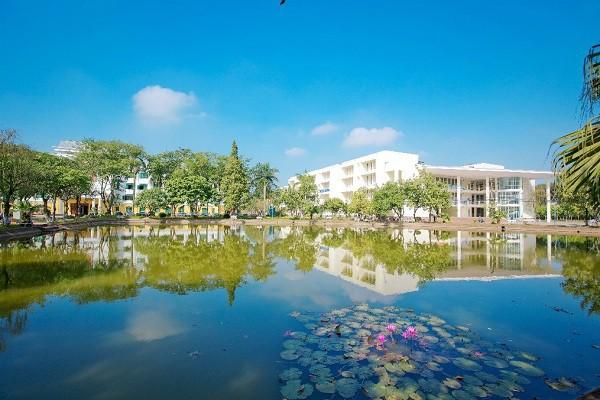 Ngay tại Hà Nội có một ngôi trường rộng gần 200ha, cây cối, hoa trái phủ xanh khắp nơi như rừng nhiệt đới - Ảnh 7.