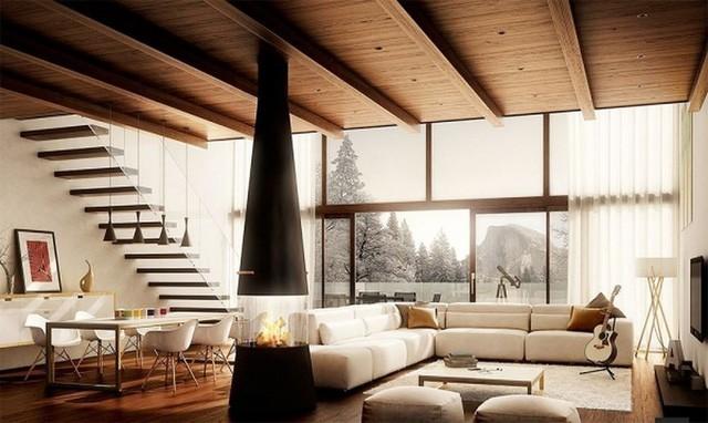 Thiết kế nội thất nhà ống 2 tầng 50m2 đẹp mê ly chưa đến 200 triệu  - Ảnh 1.